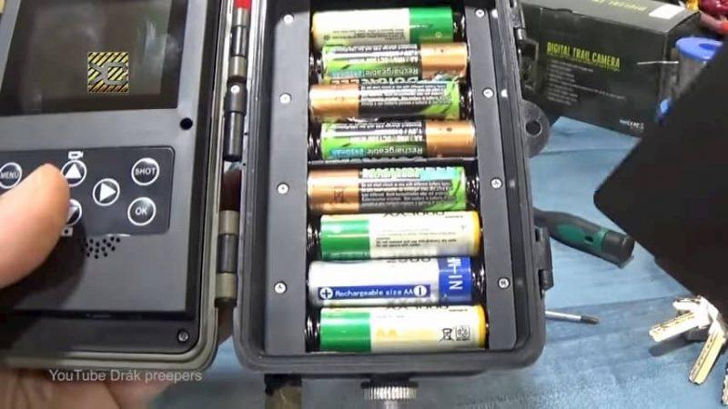 que pilas usar en las cámaras de fototrampeo