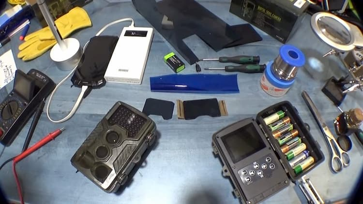 mantenimientos de las cámaras de vigilancia nocturna